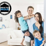 sanitize home mold
